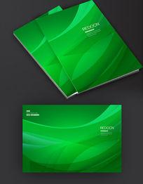 绿色线条封面