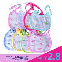 口水巾母嬰用品淘寶直通車主圖設計