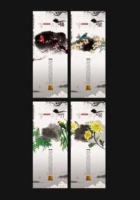 中国风古典梅兰竹菊