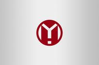 红色家装房地产工业logo