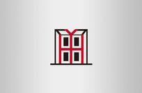 简约家装公司房地产logo