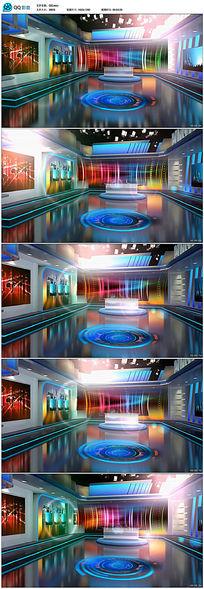 虚拟演播室背景视频