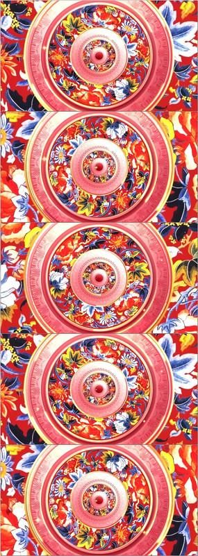 中国风新年春节晚会舞台led背景