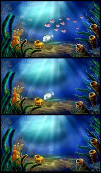 美丽的海底世界鱼动态视频