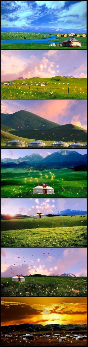 自然风景视频