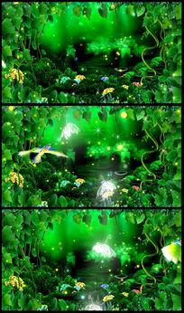 绿色大自然+梦幻仙境(有音乐)