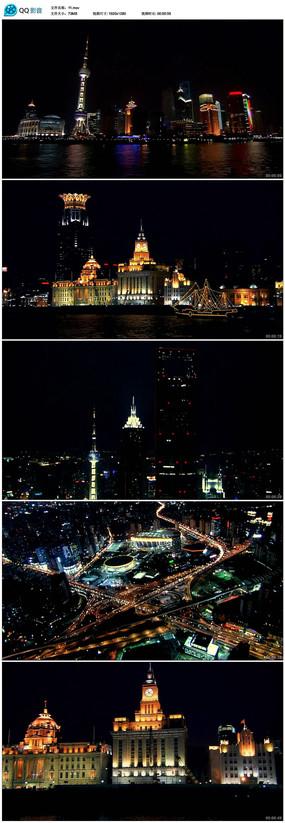 夜晚城市视频