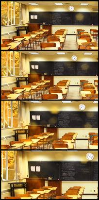怀旧温馨教师课堂背景视频