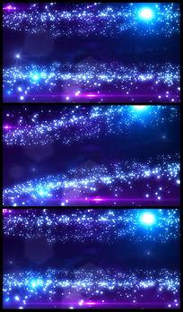 绚丽星空粒子LED大屏幕视频素材