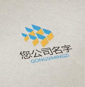 简洁创意环保公司logo