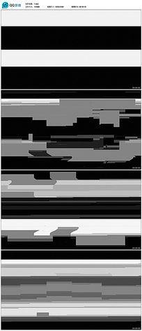 不规则几何闪烁背景视频素材