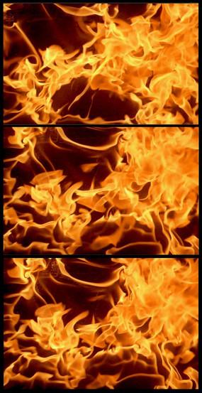 火焰燃烧动态视频