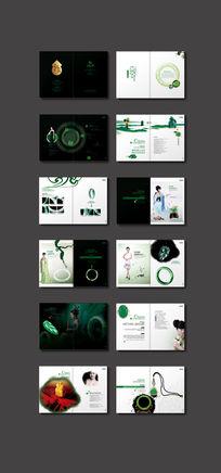 绿色玉石玉器产品宣传册