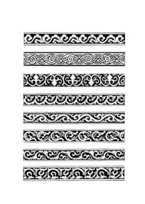蒙古族图案花纹