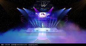 七夕晚会舞台舞美设计图效果图