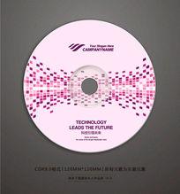 歌曲舞曲光盘贴纸设计