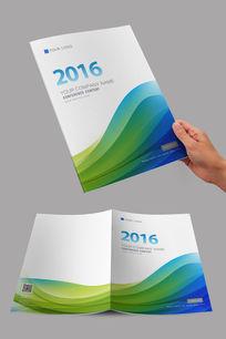 简约科技流线设计封面