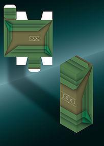 单色层叠感大气包装盒