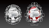 维多利亚胸章图腾衣帽店logo