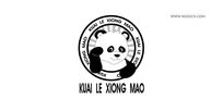 创意卡通熊猫LOGO