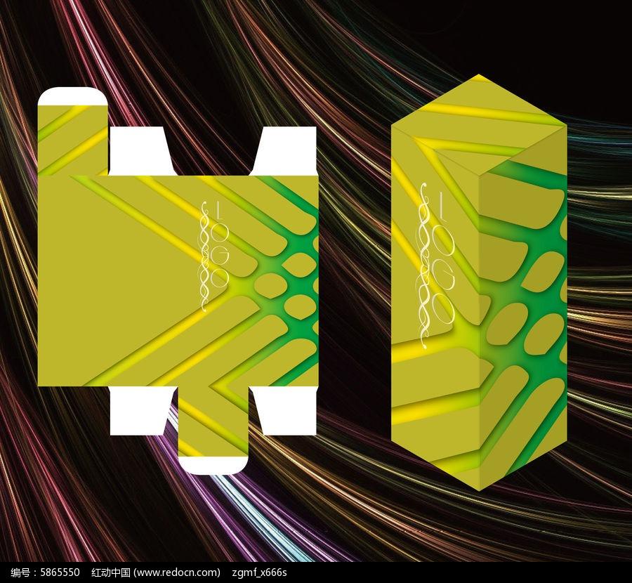鲜色创意保健品包装盒图片