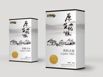 中国风小米包装袋设计