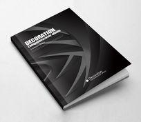 黑色创意工业画册封面设计