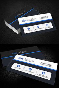 商业服务通用名片设计名片模板
