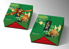 茶粽礼盒包装设计