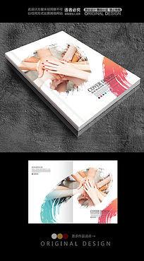 水墨风企业宣传画册封面