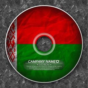 白俄罗斯国旗光盘封套