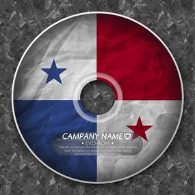 巴拿马国旗光盘封套