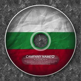 保加利亚国旗光盘封套