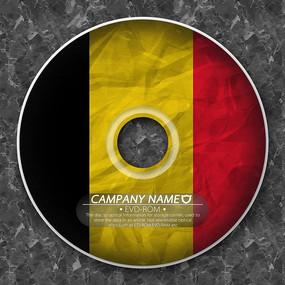 比利时国旗光盘封套