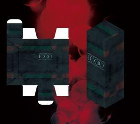 暗色古典高档包装盒