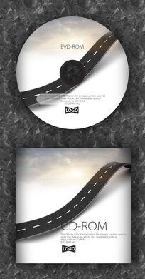 汽车音乐道路时尚CD设计