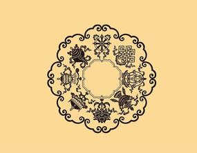 藏传佛教纹样