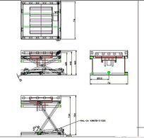 升降机全套16张CAD图纸