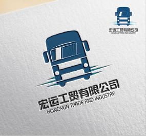 形象货运公司logo