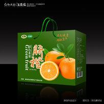 绿色高端赣南脐橙包装设计