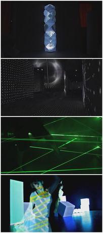 舞台艺术灯光vj背景视频素材