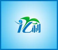 创意环保标志企业标志分层模板