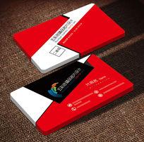 红黑色创意经典名片