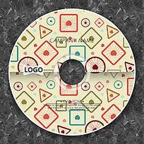 炫彩几何圆点时尚CD
