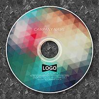 彩色马赛克时尚CD包装设计
