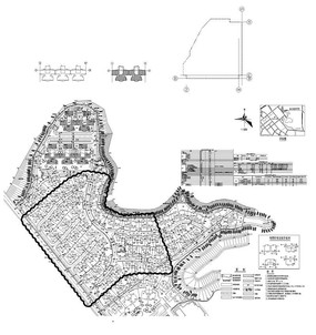 地产规划总平面图