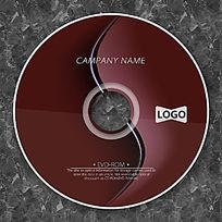 巧克力曲线时尚CD设计