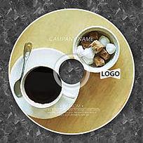 写实咖啡零食时尚CD设计