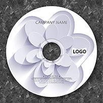 质感刻花时尚CD光盘设计