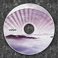 中国风唯美扇子时尚CD光盘